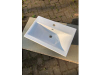 Vanity Unit Sink Basin 615mm x 400mm - New, ex display.