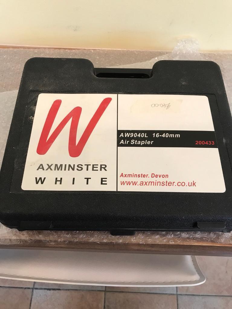 Axminster Air Stapler with Staples