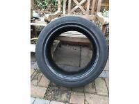 Continental Contact 3 Part Worn Tyre - 235/45 R17 94W - No repairs - 5mm tread