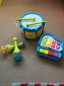 Little tikes musical set