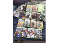 xbox 360 and 15 games for sale for £80