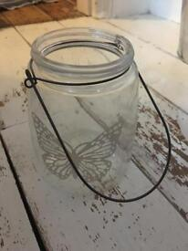 Butterfly jar with handle