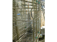 Portable Site Cage / Trolley / Roll Cage / Moving Storage