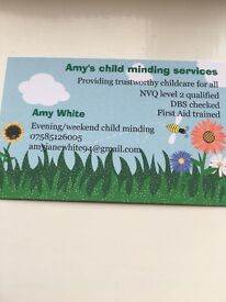 Amy's childminding services