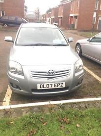 Very very low mileage Toyota avensis