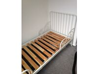 Ikea single adjustable bed