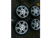 Alloy wheels for sale amg wheels
