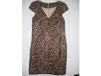 Leopard Print Dress Size 10