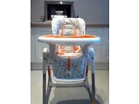 Red Kite Feed me height adjustable high chair