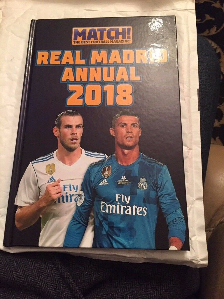 Match! Real Madrid Annual 2018 (Annuals 2018) by Match Hardback Book