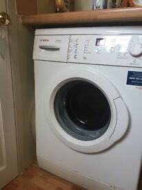 Bosch washing machine.