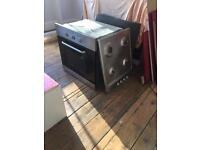 Baumatic gas Hob and electric oven