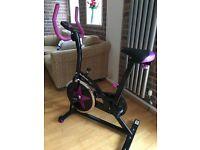 Exercise Bike/ Aerobic Indoor Training Cycle Fitness Cardio Machine RRP109.99