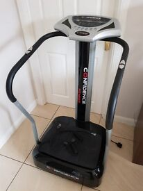 CONFIDENCE FITNESS PRO VIBRATION PLATE TRAINER