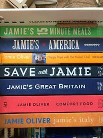 Jamie Oliver Book collection