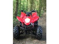 150cc automatic quad with reverse
