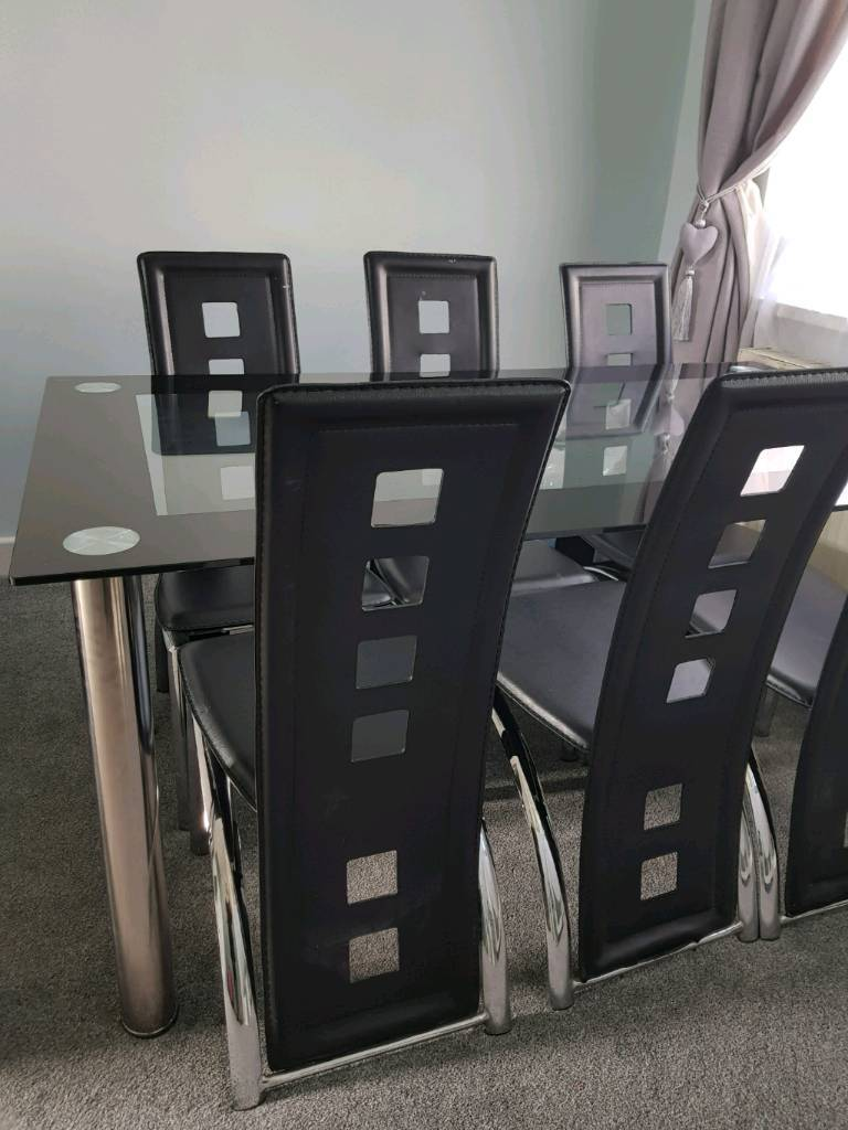 Reduced For Quick Sale Dining Table And 6 Chairs