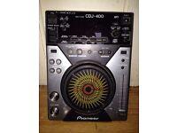 **FOR SALE** Pioneer CDJ-400's (Set Of)