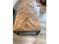 Retro Industrial Chic Coffee Table