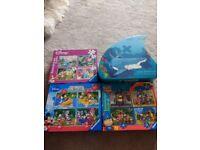 Children's jigsaws bundle