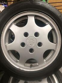Porsche 944 S2 wheels and tyres