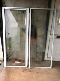 Shower door and side Panel