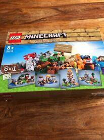 Lego Minecraft crafting box 8 in 1