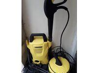 Karcher K2 pressure washer, with hose. £25.