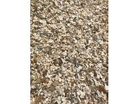 Cotters gold garden/ driveway chips