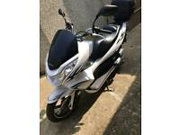Honda pcx 125 with low mileage ww125 not sh ps nmax xmax