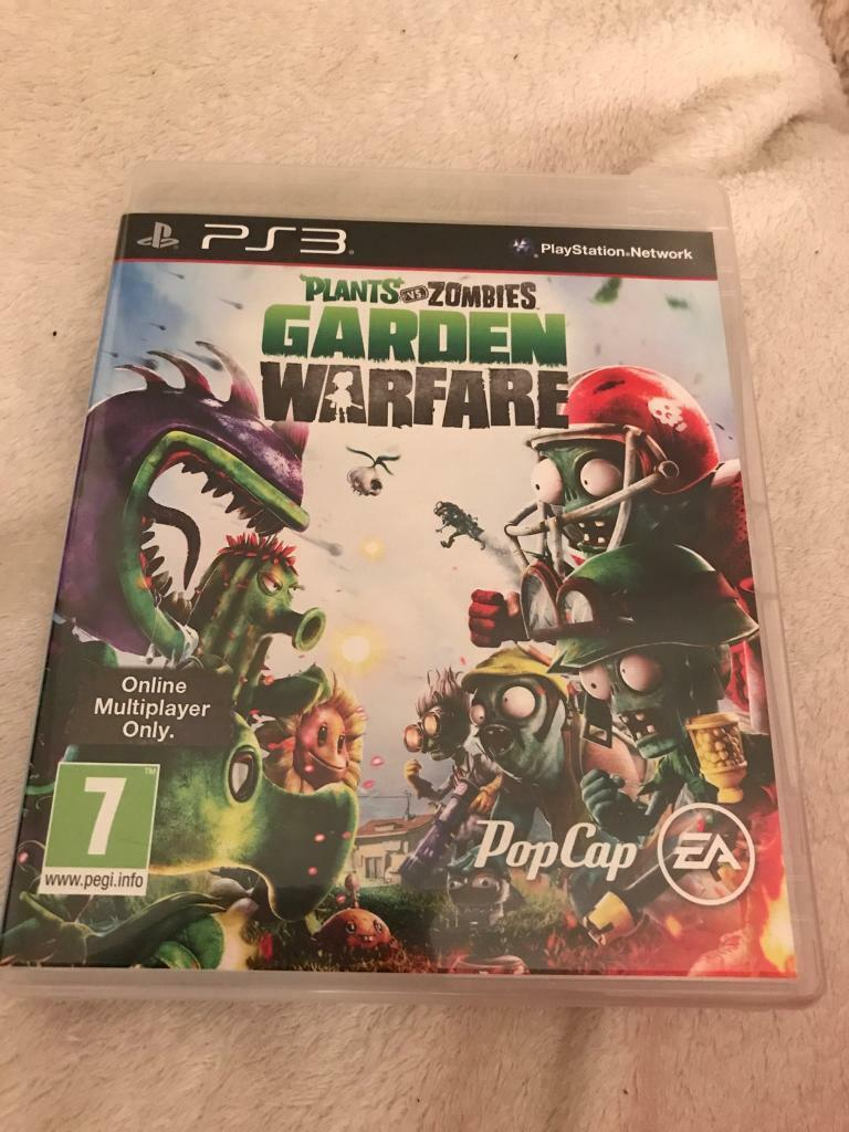 PS3 PLANTS VS ZOMBIES GARDEN WARFARE | in Exminster, Devon | Gumtree