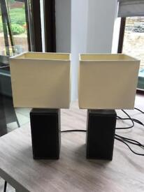 2 small lamps with shades. Workington Cumbria