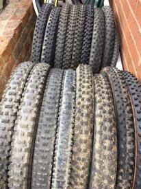 "MTb tyres 26"" used maxxis intense schwalbe"