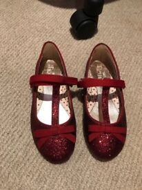 New glittery size 12 girl shoes