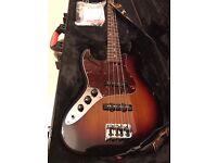 Fender American Standard Jazz Bass LEFT HANDED Sunburst