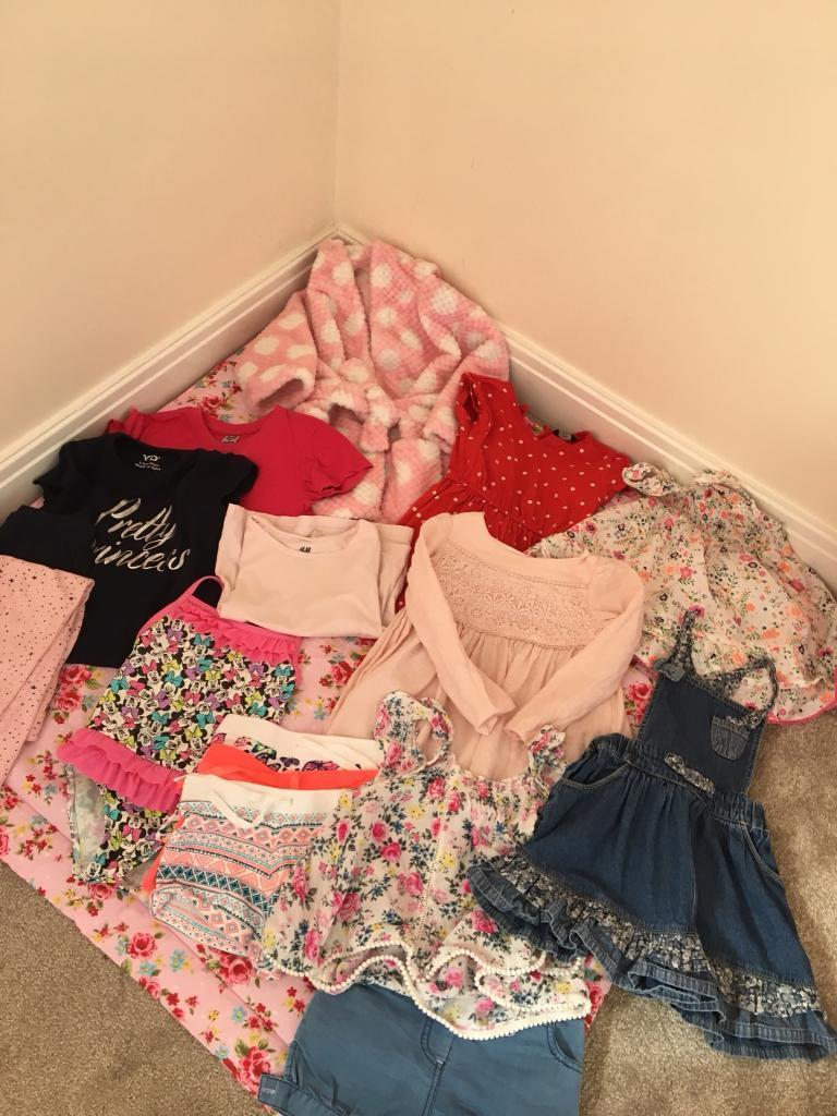 Girls aged 2-3 clothes