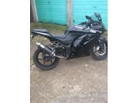 Kawasaki ex250 ninja spares or repair