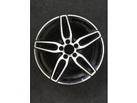 "Mercedes AMG 18"" 5 spoke alloy wheel - Buckled"