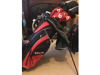 Texan Classic Golf Clubs (x13) and Golf Bag