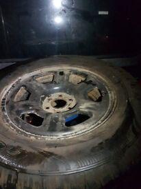 Nissan Navara Spare wheel