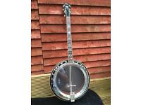 Tenor banjo. Aria pro 2 early 1970s £800