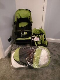 Brand new hauck 3 in 1 travel system