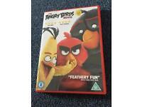 The angry bird movie DVD