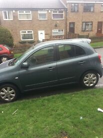 61 plate Nissan micra dig s