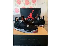 20c68bb29ed1 Nike Air Jordan 4 BRED