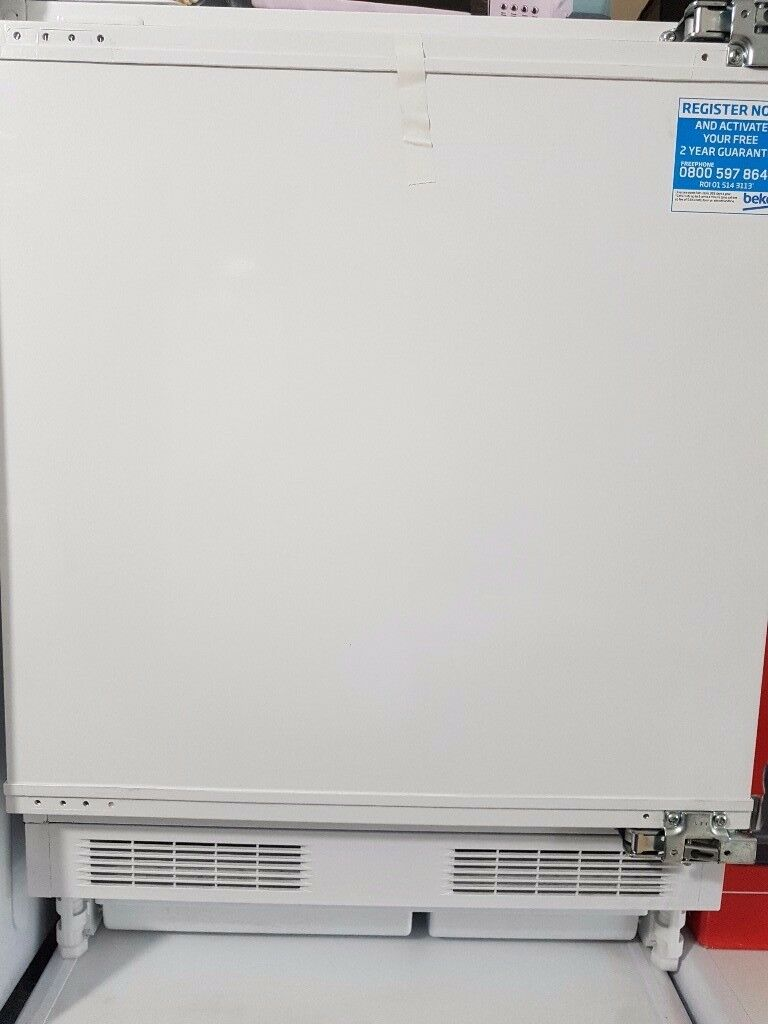 New BEKO QL22 WHITE INTEGRATED FRIDGE