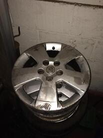 """5x110 16"""" ASTRA/CORSA/ZAFIRA alloy wheel 3 available"""