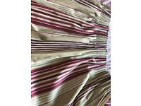 Laura Ashley striped curtains