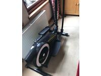 Cross trainer. York elliptical trainer