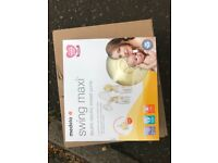 NEW MEDELA swing maxi double electric breast pump
